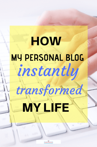 My personal blog| How it enriched my life. It rescued me from retirement boredom by giving me a creative outlet. I grew my awareness about my chronic illness and became part of a supportive blogging community.